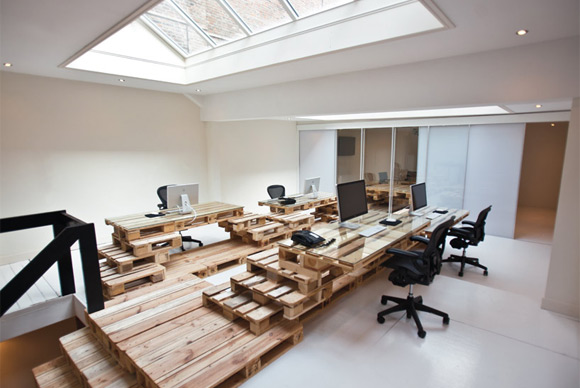 How To Use Wood to Decorate Your Offices Modern Architecture Concept