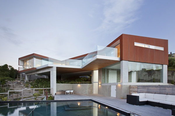 Amazing Home In New Zealand Modern Architecture Concept