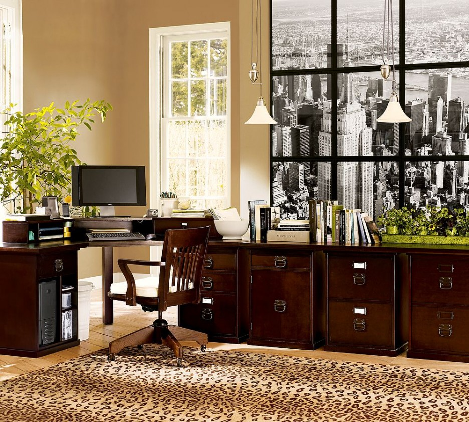 The 18 Best Home Office Design Ideas With Photos: Decorate Your Offices With Classical Ideas