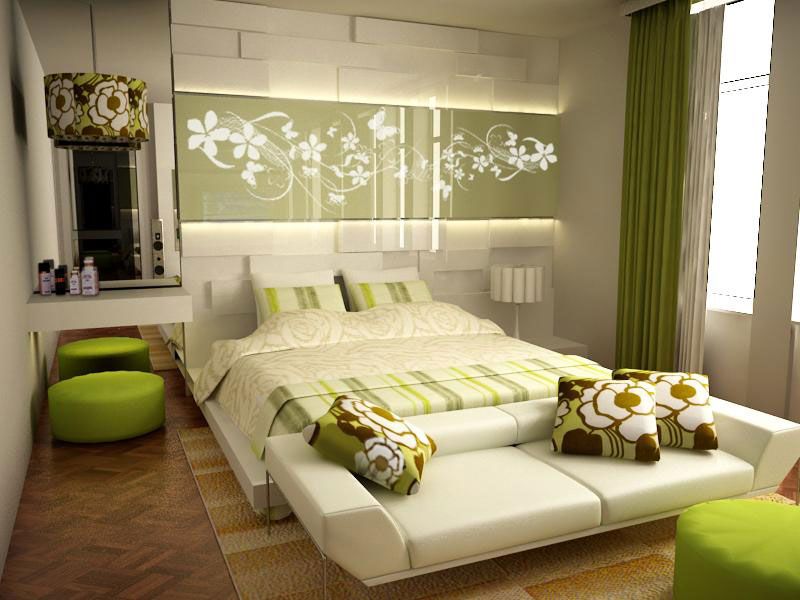 contemporary-wall-paintings-bedrooms-relaxing-color-decor-with ...