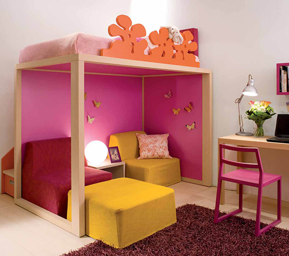 Small Bedroom Design Ideas For Kids Rooms: Modern Architecture Concept