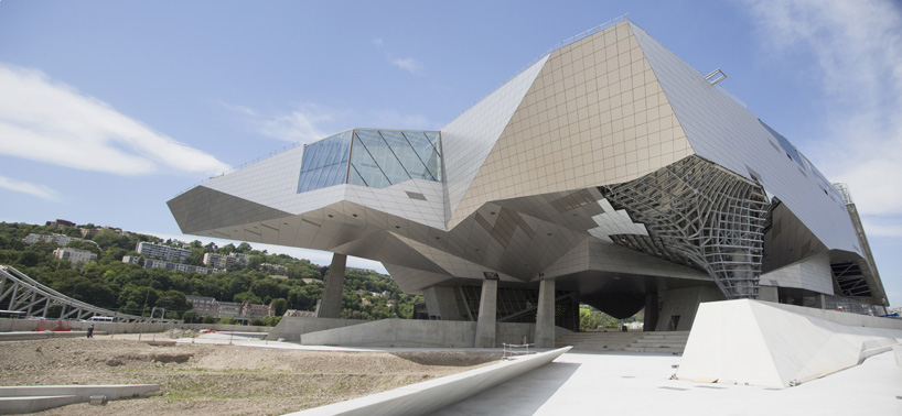 Musee des confluence project , completed in Lyon