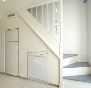 Beyaz-eşya-köşesi-merdiven-altı-depolama-örnekleri-300x288