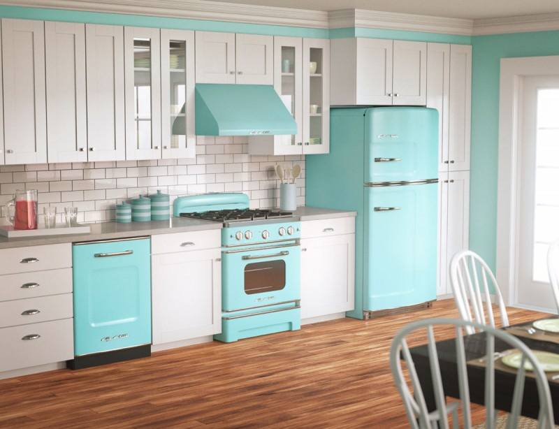 different-blue-turquoise-white-kitchen-decoration-pictures-2015