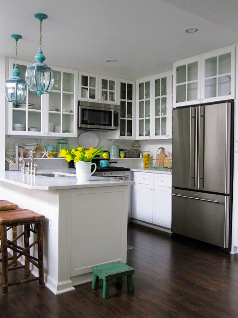 How To Decorate A Small Kitchen Inspiration With Small Kitchen Design Ideas Images
