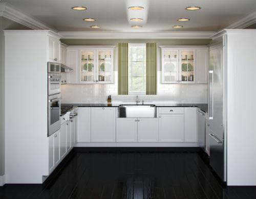 U shaped kitchen designs an efficient way of kitchen for U shape kitchen ideas