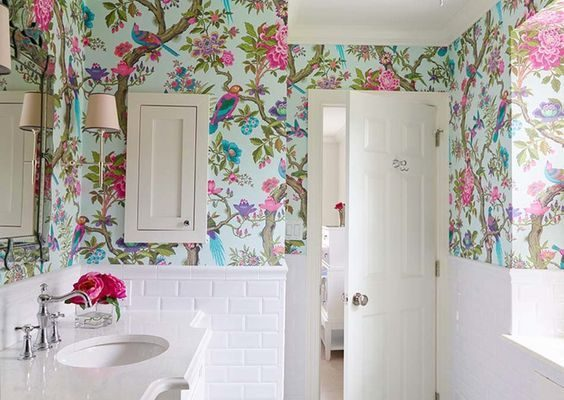 How Decorating With Floral Wallpaper Will Transform Your Home For Summer