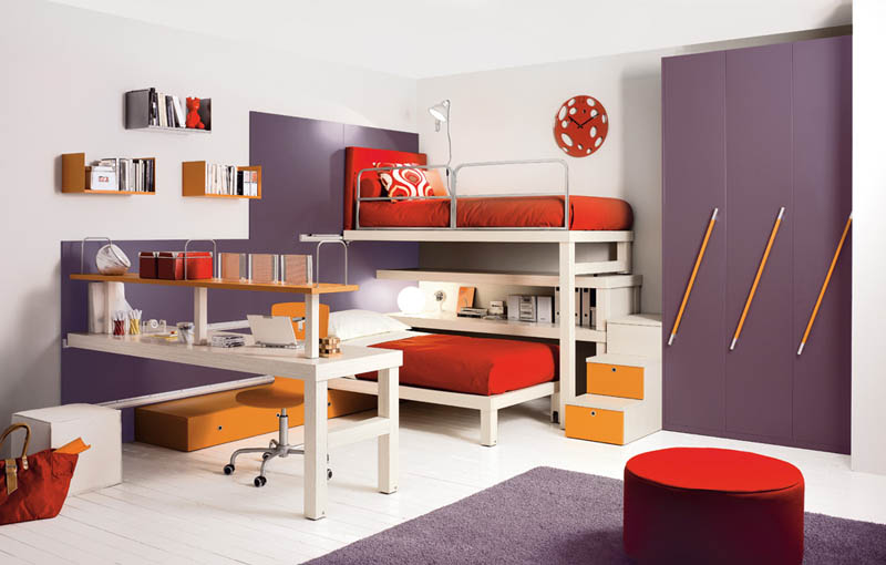 Interactive Designs For Kids Room Furniture