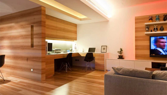 Wooden Office Interior Design