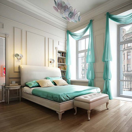 Relaxing Interiors Styles for Bedroom