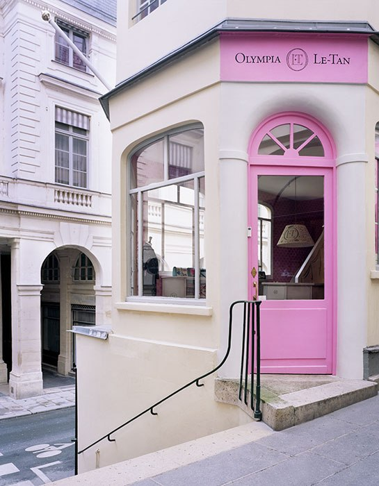 Olympia Le-Tan opens a new shop in Paris