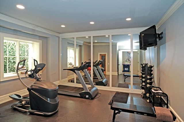 Create a Calming Fitness Room