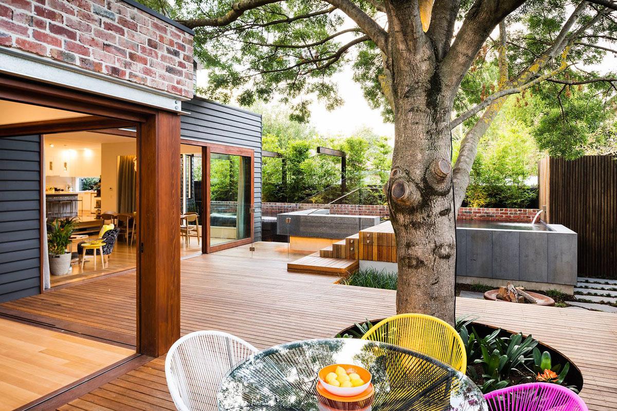 Backyard Deck Ideas Modern Architecture Concept